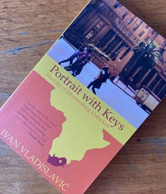 Book about Johannesburg a city in South Africa