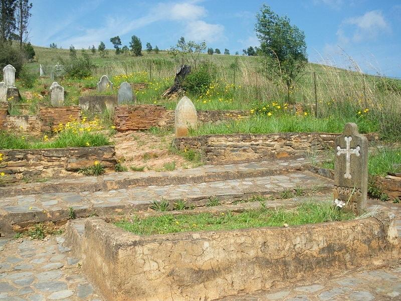 Robber's grave Pilgrim's Rest South Africa