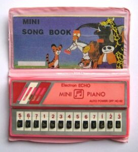 Mini Song Book 90s toy