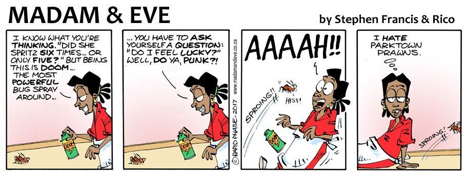 Madame & Eve Comic - Parktown Prawn