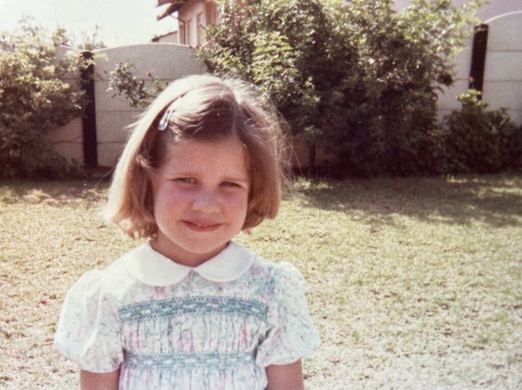 Andrea with cut hair in Germiston South Africa