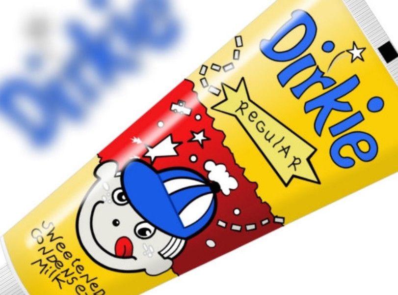 Dirkie Condensed Milk tube