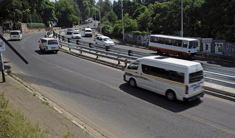 Orange Grove Hill looking up towards Berea off Louis Botha Ave